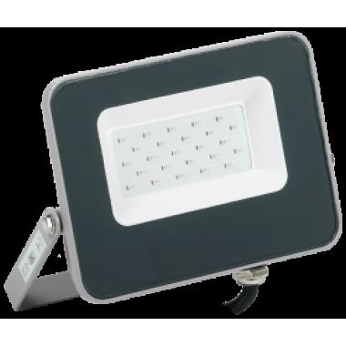 LPDO7B-01-20-K03 IEK Прожектор светодиодный СДО 07-20B blue IP65 серый IEK