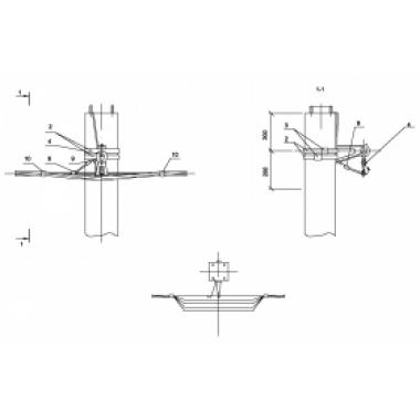 ASIP-BET-OPR-101-00-01 IEK Опора П33 ж/б промежуточная одноцепная без ответвления IEK