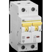 MVA31-2-063-C IEK Выключатель автоматический ВА47-60M 2Р 63А 6кА С IEK