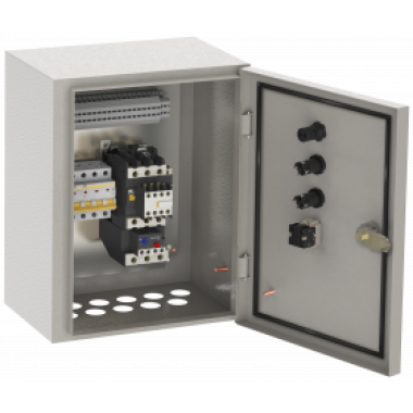 NKU10-RUSM-51101874-01 IEK Ящик управления РУСМ5110-1874 нереверсивный 1 фидер автоматический выключатель на каждый фидер без переключателя на автоматический режим 0,6А IEK