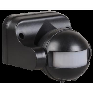 LDD10-009-1100-002 IEK Датчик движения ДД-009 1100Вт 180град 12м IP44 черный IEK