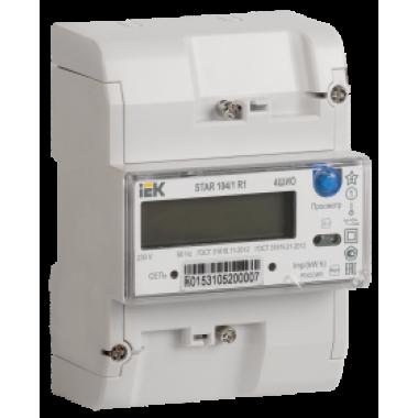 CCE-1R4-1-02-1 IEK Счетчик электрической энергии однофазный многотарифный STAR 104/1 R1-5(60)Э 4ШИО