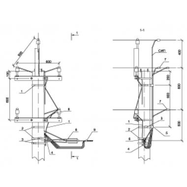 ASIP-BET-OVB-000-13-00 IEK Ответвление 2хСИП4-2 от ВЛ 0,4 с неизолированными проводами к вводам