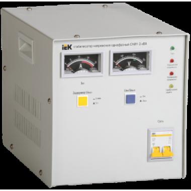 IVS10-1-03000 IEK Стабилизатор напряжения однофазный СНИ1-3 кВА