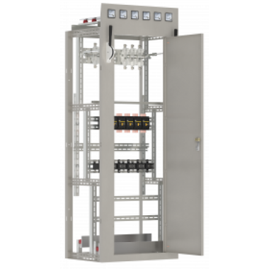 NKU10-SHCO-70101000-01 IEK Панель линейная ЩО70-1-01УЗ рубильники 2х100А 2х250А плавкие вставки 6х100А 6х250А трансформаторы тока 2х100-5А 2х200-5А IEK