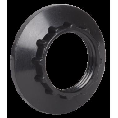 EKP20-02-02-K02 IEK Кольцо к патрону Е14 пластик черный (индивидуальный пакет) IEK