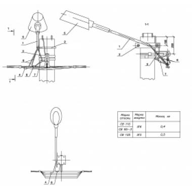 ASIP-BET-SVB-000-00-00 IEK Подвеска светильника на ж/б опоре
