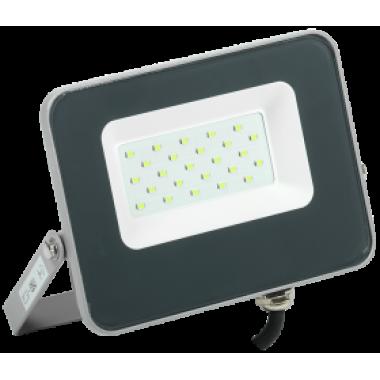 LPDO7G-01-20-K03 IEK Прожектор светодиодный СДО 07-20G green IP65 серый IEK