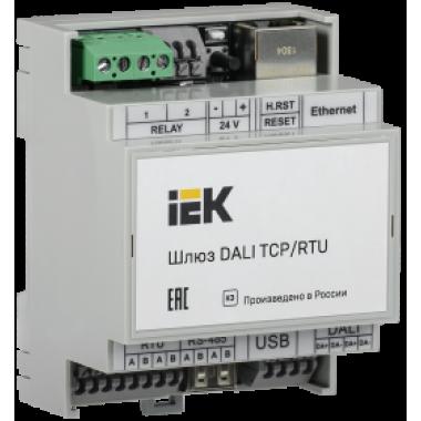 LAD00-02-0-064-K03 IEK Шлюз DALI с подключением TCP/RTU на 64 устройства IEK