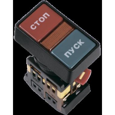 """BBD21-PPBB-K51 IEK Кнопка РPВВ-30N """"Пуск-Стоп"""" d=30мм неон/240В 1з+1р IEK"""