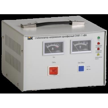 IVS10-1-01000 IEK Стабилизатор напряжения однофазный СНИ1-1 кВА
