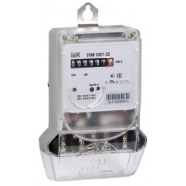 CCE-1C1-2-01-1 IEK Счетчик электрической энергии однофазный STAR 102/1 C3-10(100)М