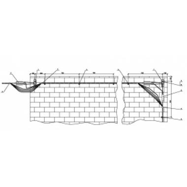ASIP-BET-PRB-000-00-00 IEK Прокладка СИП по стенам зданий