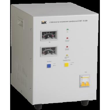 IVS10-1-10000 IEK Стабилизатор напряжения однофазный СНИ1-10 кВА