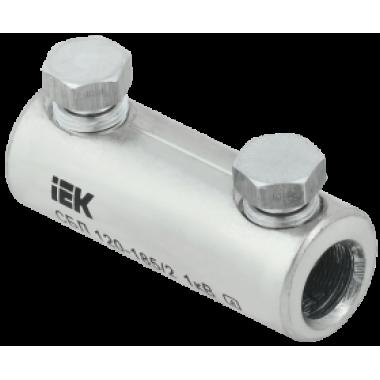UCB11-120-185-02-01 IEK Соединитель болтовой луженый СБЛ 120-185/2 1кВ IEK
