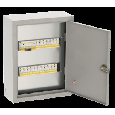 NKU10-OSHV-06063016-01 IEK Щиток осветительный ОЩВ навесной с автоматическими выключателями 3p 1х63А 1p 6х16А IEK