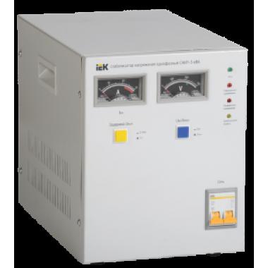 IVS10-1-05000 IEK Стабилизатор напряжения однофазный СНИ1-5 кВА