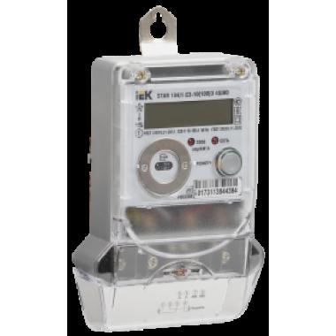 CCE-1C4-2-02-1 IEK Счетчик электрической энергии однофазный многотарифный STAR 104/1 С3-10(100)Э 4ШИО