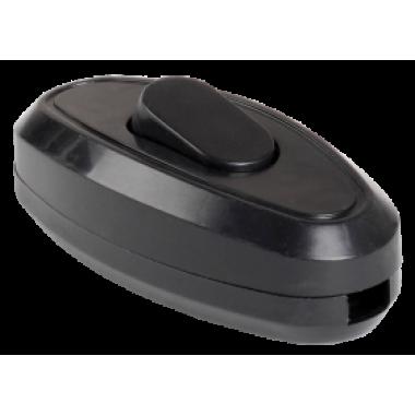 EVB10-K02-10 IEK Выключатель 1-клавишный разборный для бра ВБ-01Ч черный IEK