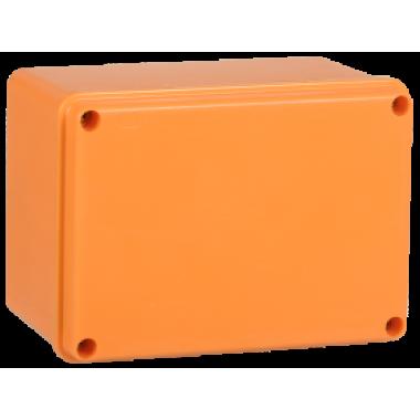 UKF20-150-110-085-2-10-09 IEK Коробка распаячная огнестойкая ПС 150х110х85мм 2P 10мм2 IP44 гладкие стенки IEK
