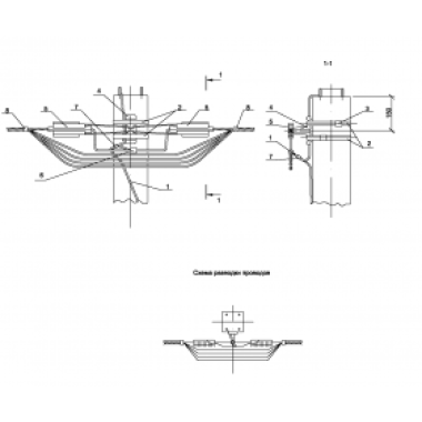 ASIP-BET-KRB-400-00-00 IEK Крепление анкерное без разрезания провода IEK