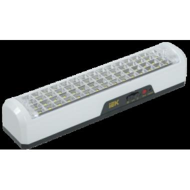 LDBA0-3928-60-K01 IEK Светильник светодиодный аккумуляторный ДБА 3928 15ч 12Вт IEK