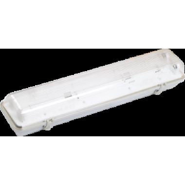LLSP2-3901A-2-18-K03 IEK Светильник пылевлагозащищенный ЛСП3901А ABS/PS 2х18Вт IP65 IEK