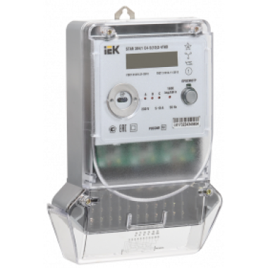 CCE-3C4-3-02-1 IEK Счетчик электрической энергии трехфазный многотарифный STAR 304/1 С4-5(10)Э 4ТИО