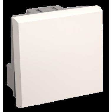 CKK-40D-PO2-K01 IEK Выключатель проходной (переключатель) одноклавишный ВК4-21-00-П (на 2 модуля) ПРАЙМЕР белый