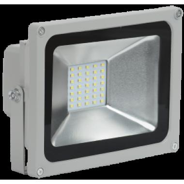 LPDO501-20-K03 IEK Прожектор светодиодный СДО 05-20 SMD IP65 серый IEK